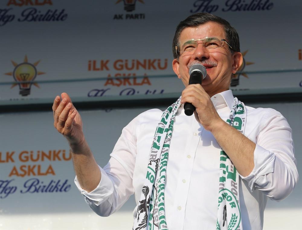 AK Parti'nin Konya mitinginden kareler 30