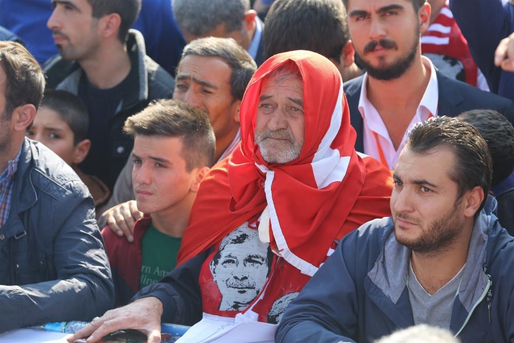AK Parti'nin Konya mitinginden kareler 31