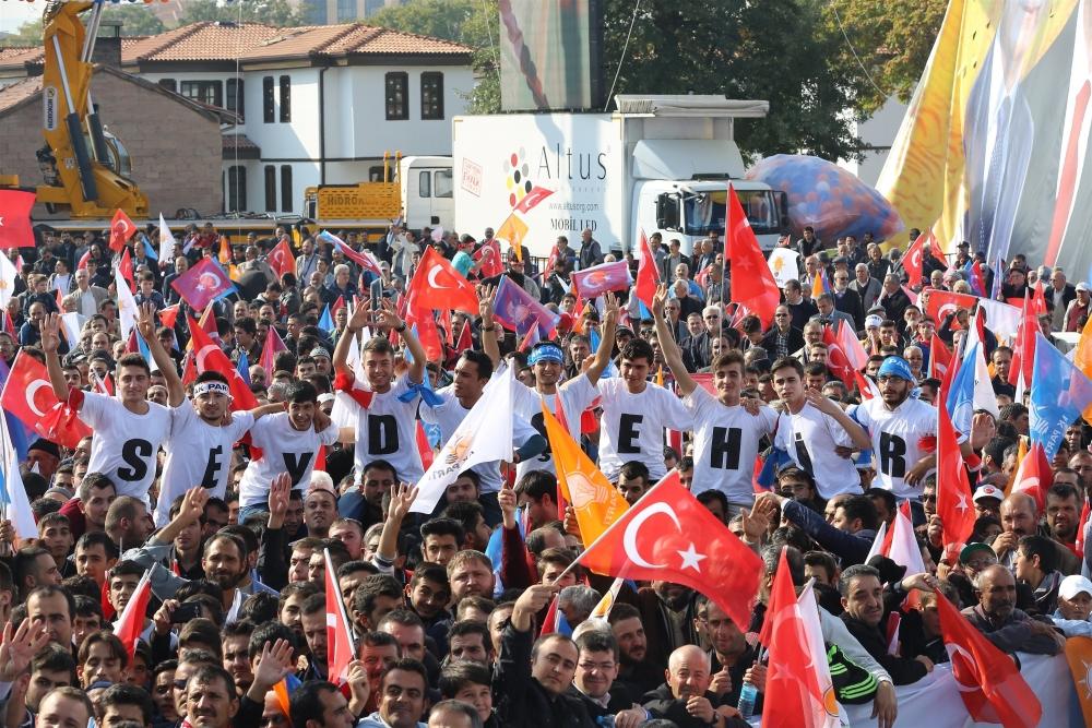 AK Parti'nin Konya mitinginden kareler 33