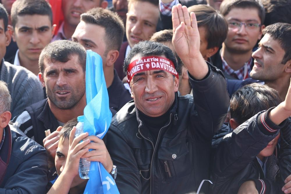 AK Parti'nin Konya mitinginden kareler 34