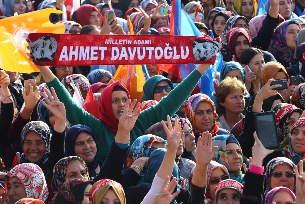 AK Parti'nin Konya mitinginden kareler 37