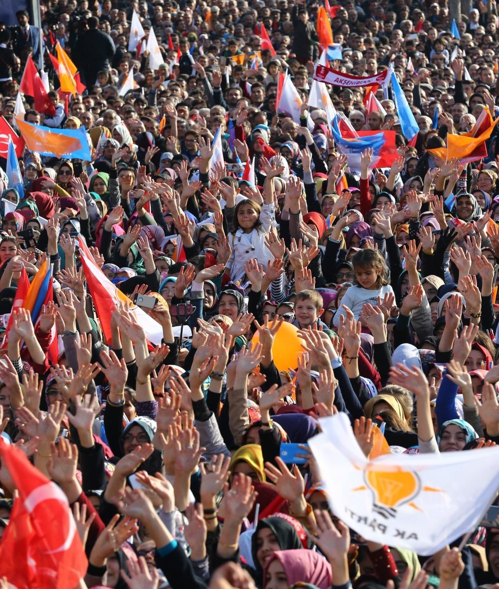 AK Parti'nin Konya mitinginden kareler 38