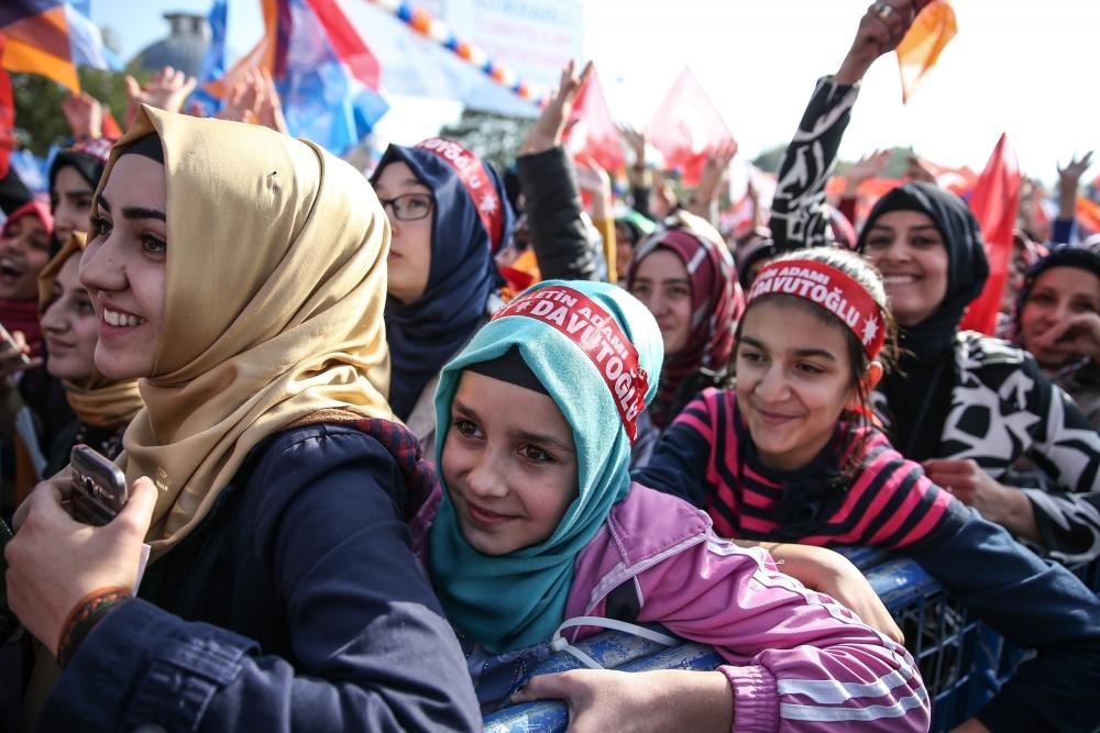 AK Parti'nin Konya mitinginden kareler 5