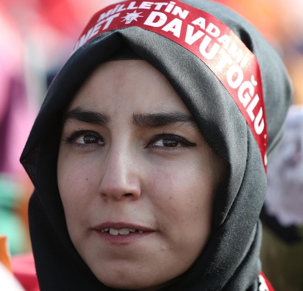 AK Parti'nin Konya mitinginden kareler 6