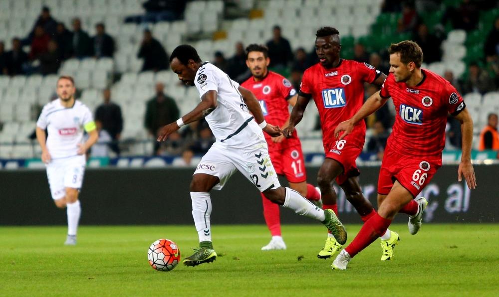 Torku Konyaspor: 0 Gençlerbirliği: 0 1