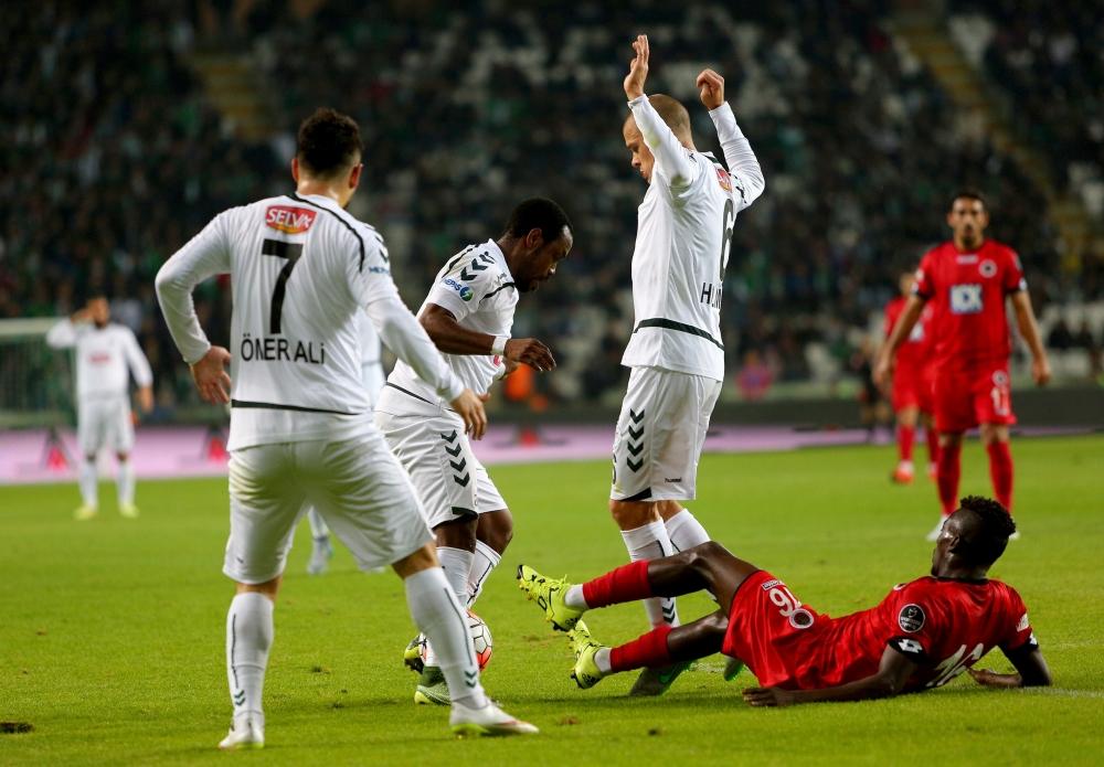 Torku Konyaspor: 0 Gençlerbirliği: 0 16