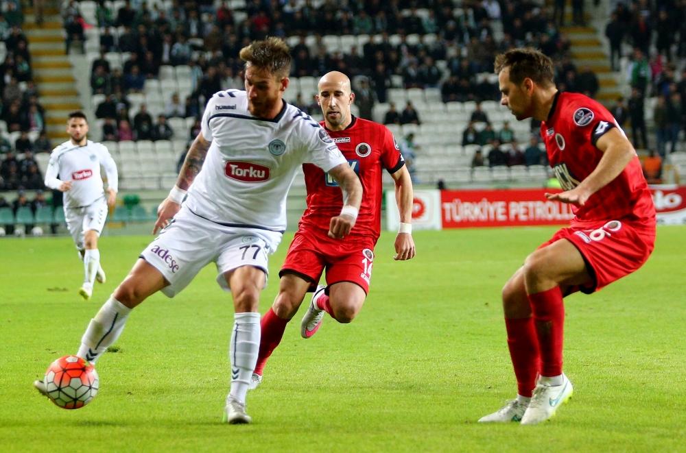 Torku Konyaspor: 0 Gençlerbirliği: 0 18