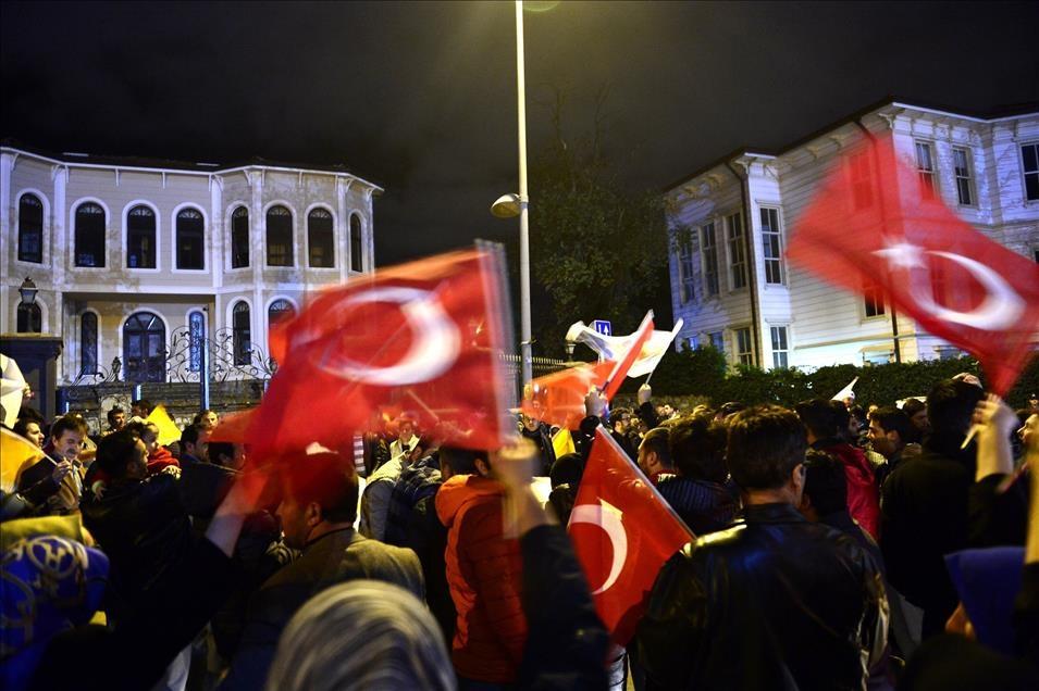 AK Parti'nin seçim zaferi kutlanıyor 10