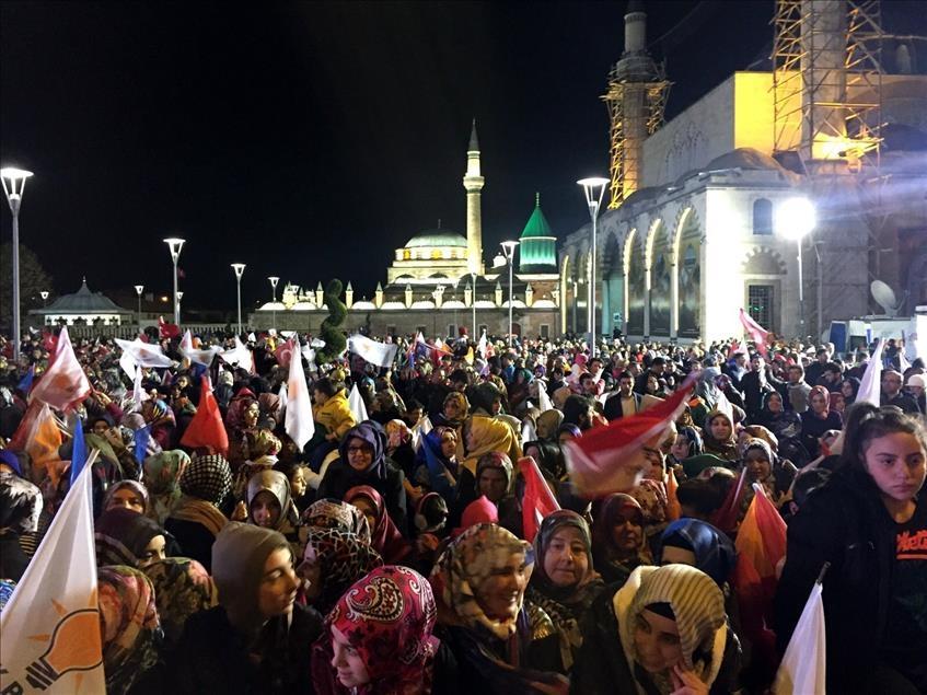 AK Parti'nin seçim zaferi kutlanıyor 11