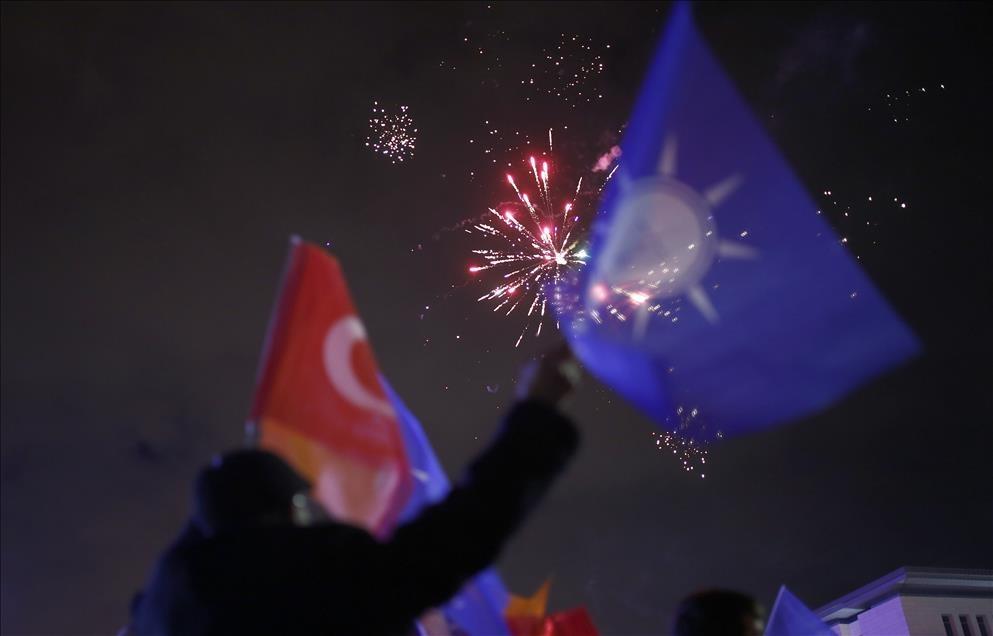 AK Parti'nin seçim zaferi kutlanıyor 12
