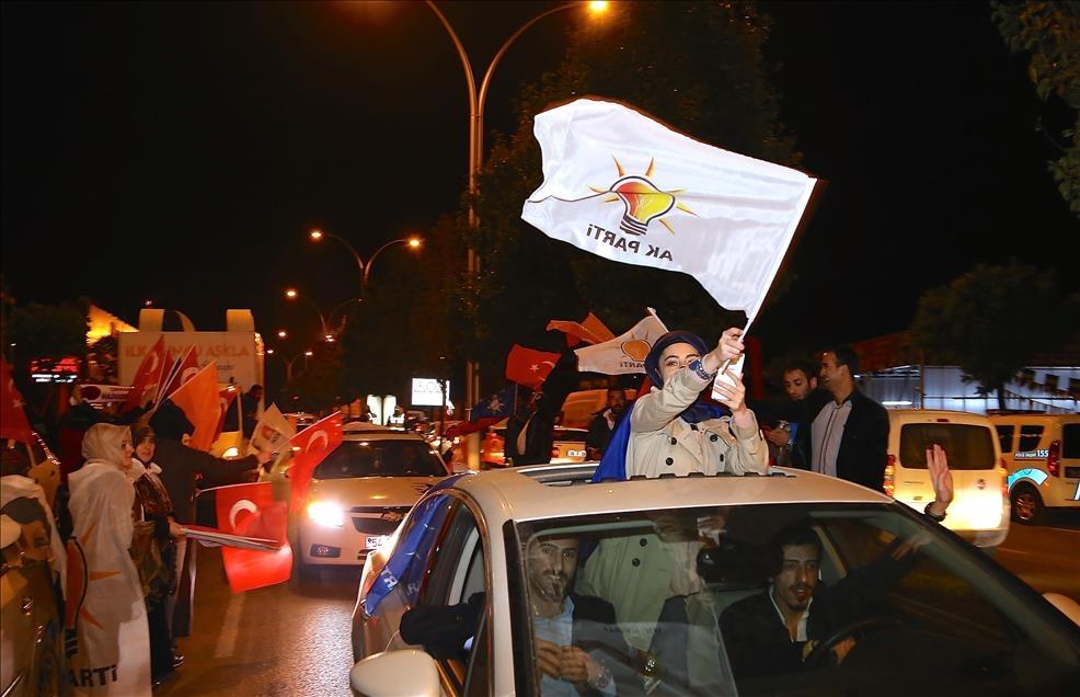 AK Parti'nin seçim zaferi kutlanıyor 3