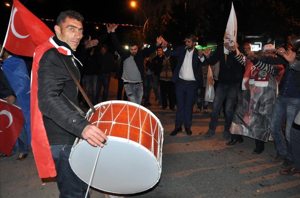 AK Parti'nin seçim zaferi kutlanıyor 7