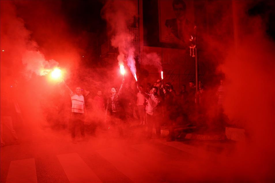 AK Parti'nin seçim zaferi kutlanıyor 8