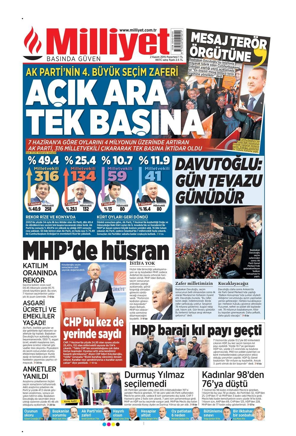Seçim manşetleri 10