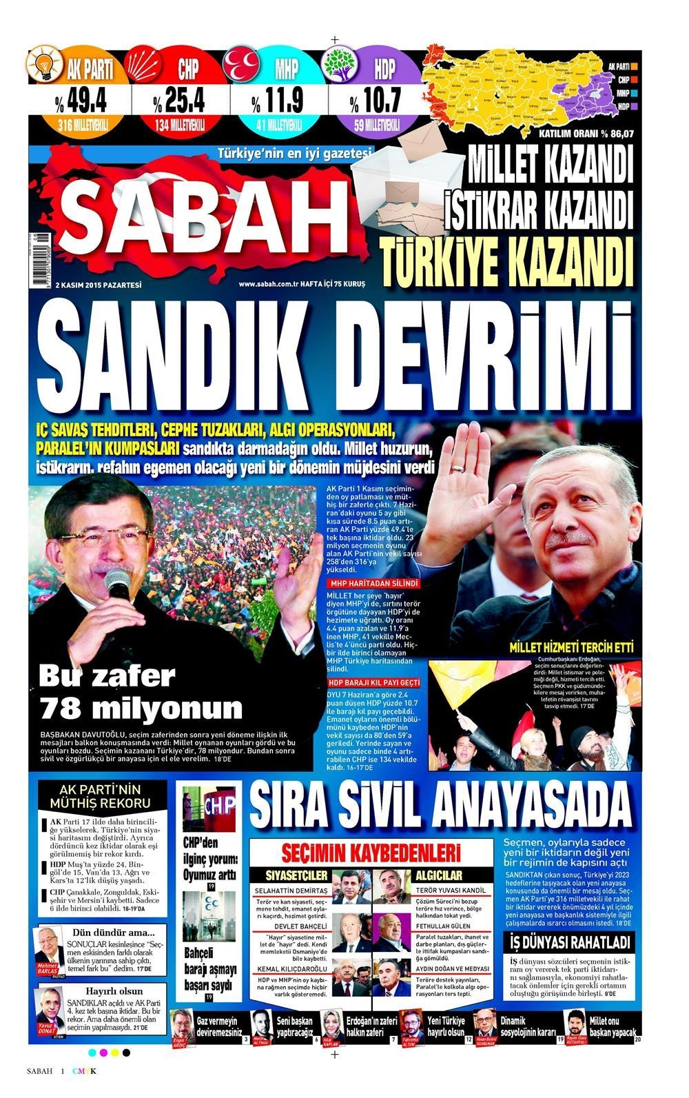 Seçim manşetleri 12