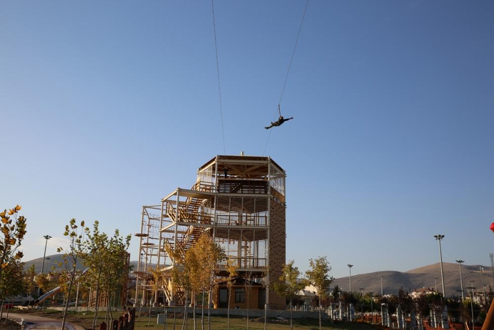 """Konya'nın ilk """"Macera Kulesi"""" açılıyor 7"""