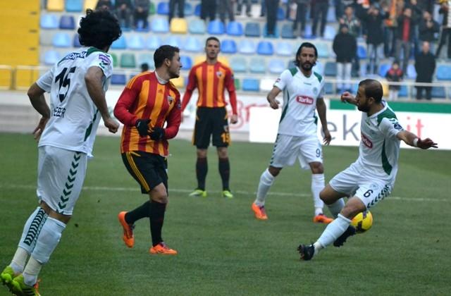 Kayserispor 0 - Torku Konyaspor 0 1