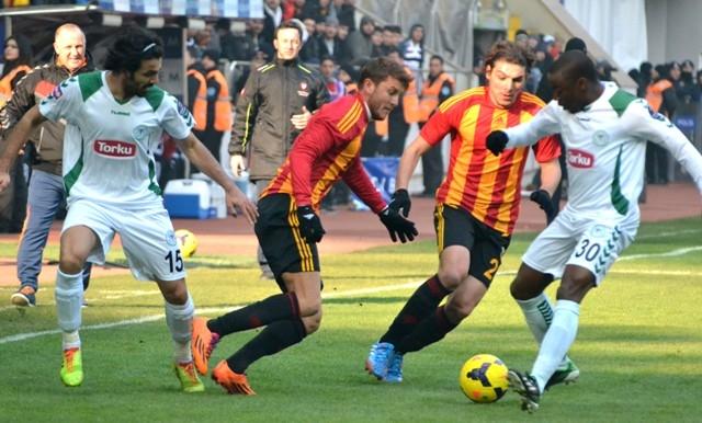Kayserispor 0 - Torku Konyaspor 0 10