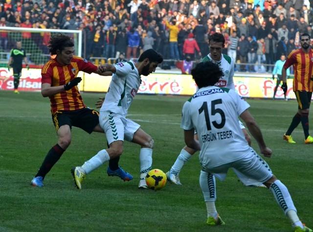 Kayserispor 0 - Torku Konyaspor 0 11