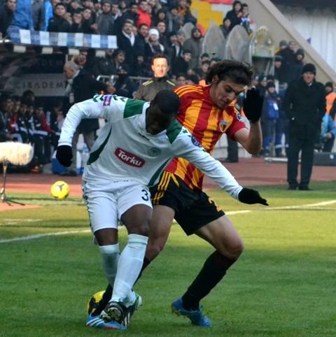 Kayserispor 0 - Torku Konyaspor 0 12