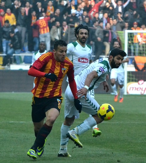 Kayserispor 0 - Torku Konyaspor 0 3