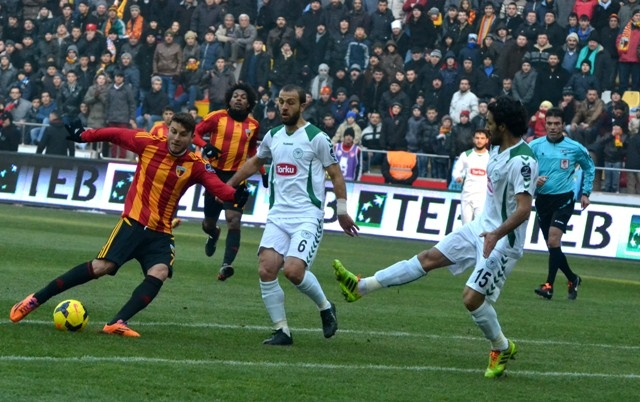 Kayserispor 0 - Torku Konyaspor 0 4