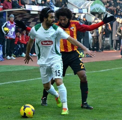 Kayserispor 0 - Torku Konyaspor 0 8