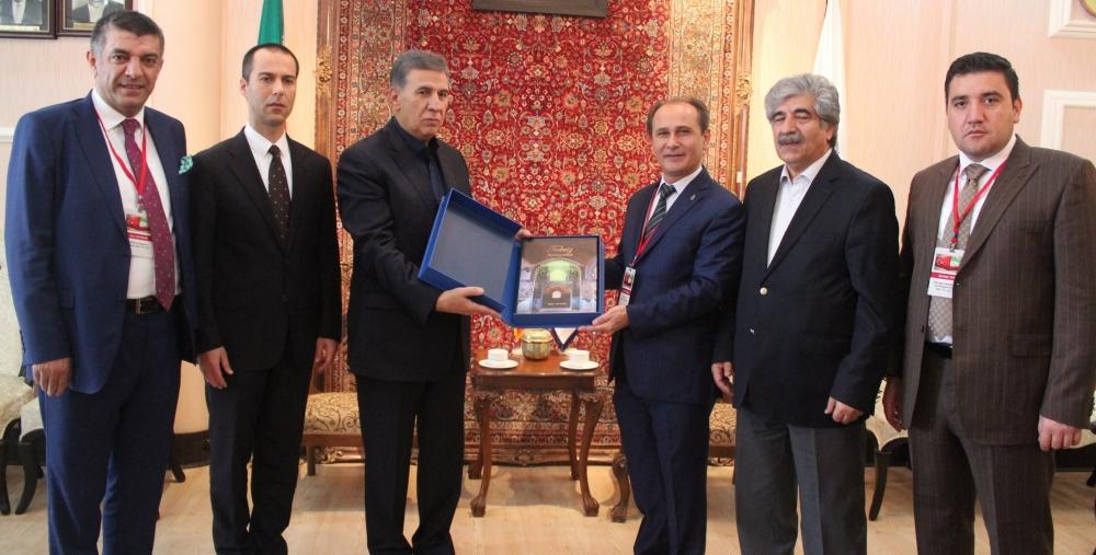 """""""Konyalı sanayicilerden İran pazarına dev adım"""" 7"""