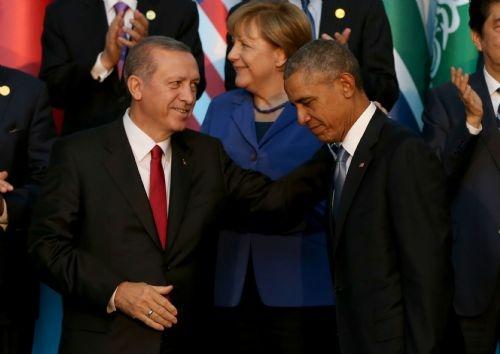 G20 Liderler Zirvesi'nin aile fotoğrafı 10