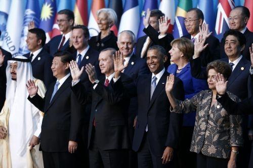 G20 Liderler Zirvesi'nin aile fotoğrafı 14