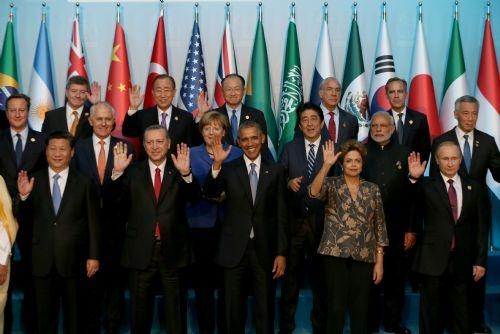 G20 Liderler Zirvesi'nin aile fotoğrafı 3