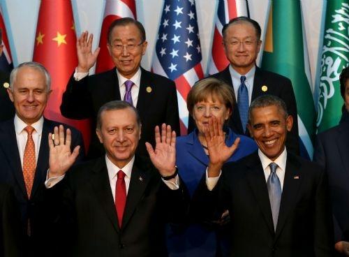 G20 Liderler Zirvesi'nin aile fotoğrafı 6
