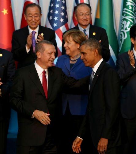 G20 Liderler Zirvesi'nin aile fotoğrafı 7