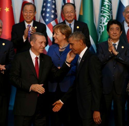 G20 Liderler Zirvesi'nin aile fotoğrafı 8