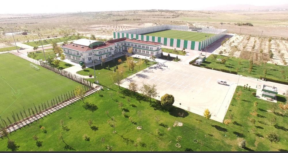 Konyaspor'un tesisleri havadan görüntülendi 1