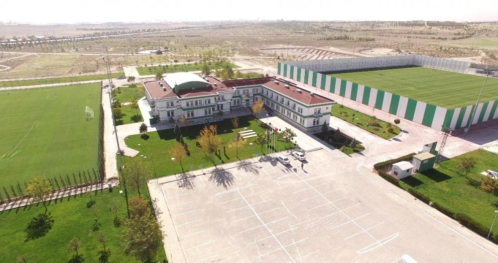 Konyaspor'un tesisleri havadan görüntülendi 10