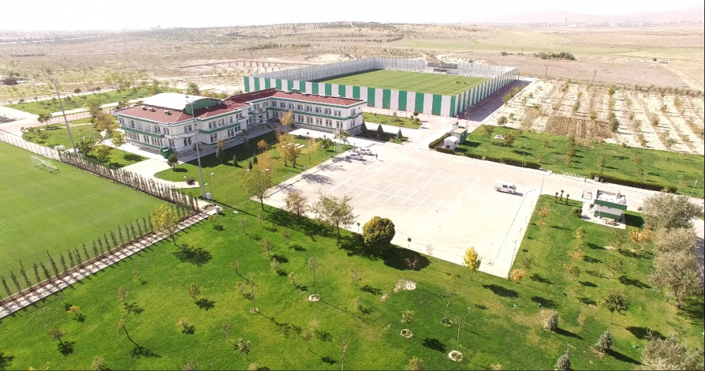 Konyaspor'un tesisleri havadan görüntülendi 2