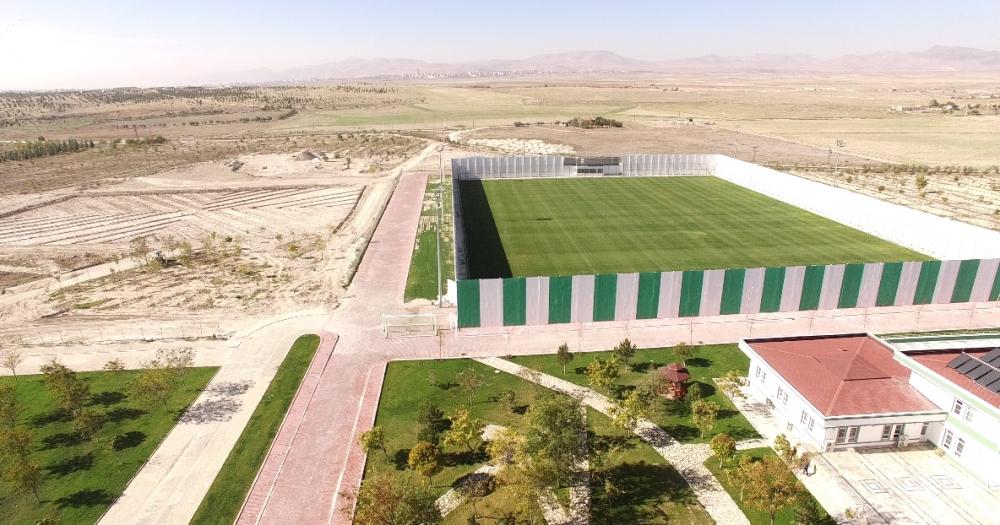 Konyaspor'un tesisleri havadan görüntülendi 4