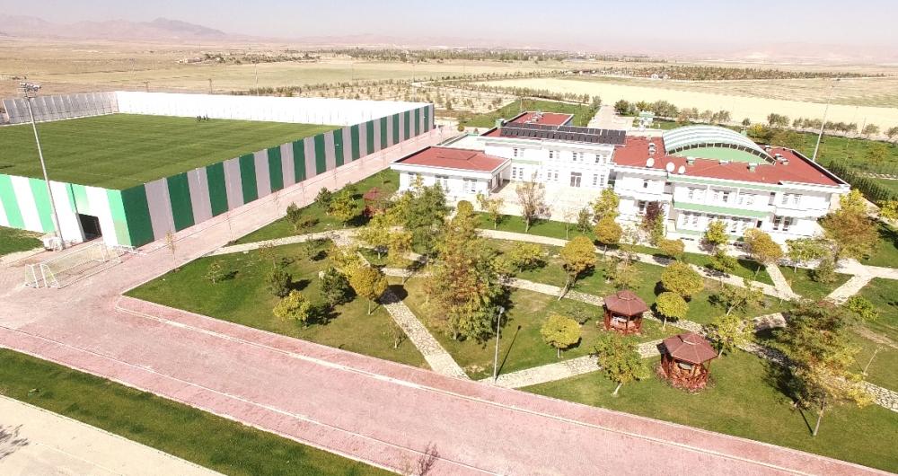 Konyaspor'un tesisleri havadan görüntülendi 5