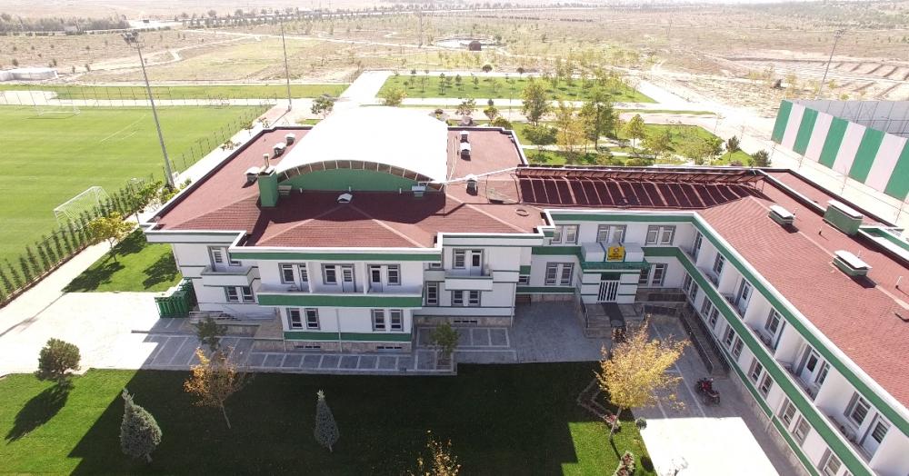 Konyaspor'un tesisleri havadan görüntülendi 8