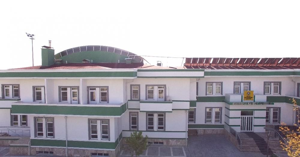 Konyaspor'un tesisleri havadan görüntülendi 9