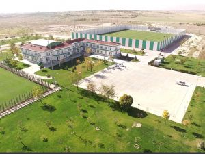 Konyaspor'un tesisleri havadan görüntülendi