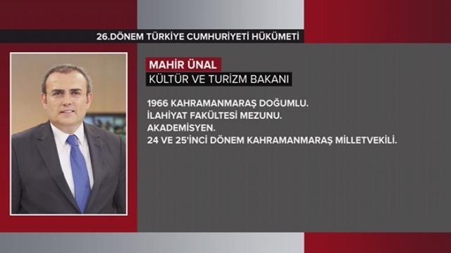 Türkiye Cumhuriyeti 64. Hükümeti 12