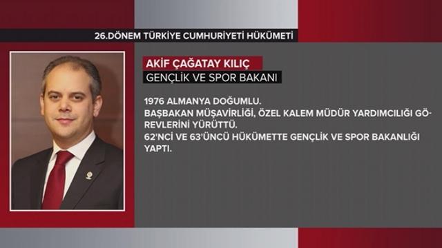 Türkiye Cumhuriyeti 64. Hükümeti 18