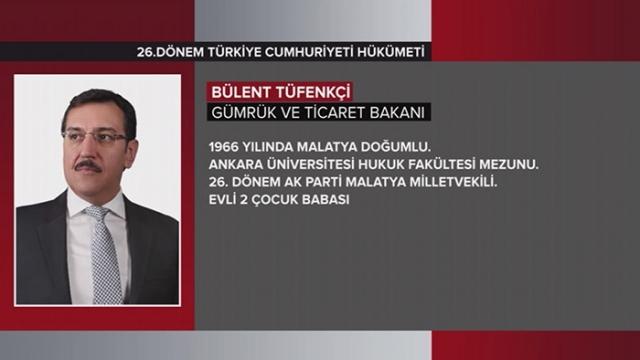 Türkiye Cumhuriyeti 64. Hükümeti 21