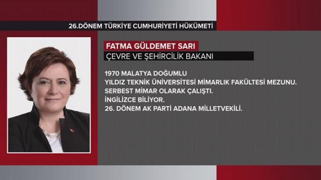 Türkiye Cumhuriyeti 64. Hükümeti 22