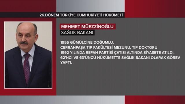 Türkiye Cumhuriyeti 64. Hükümeti 23