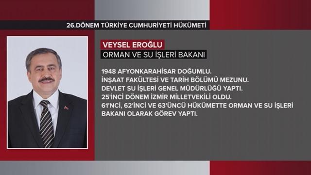 Türkiye Cumhuriyeti 64. Hükümeti 26