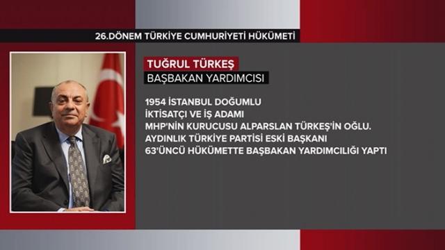 Türkiye Cumhuriyeti 64. Hükümeti 5