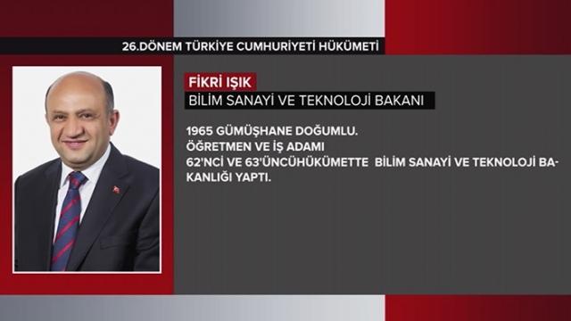 Türkiye Cumhuriyeti 64. Hükümeti 8